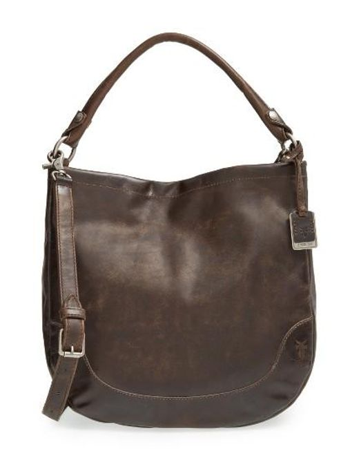 Frye | Brown Melissa Leather Hobo | Lyst