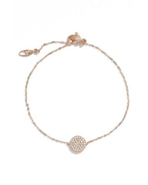Nadri | Metallic 'geo' Station Bracelet | Lyst