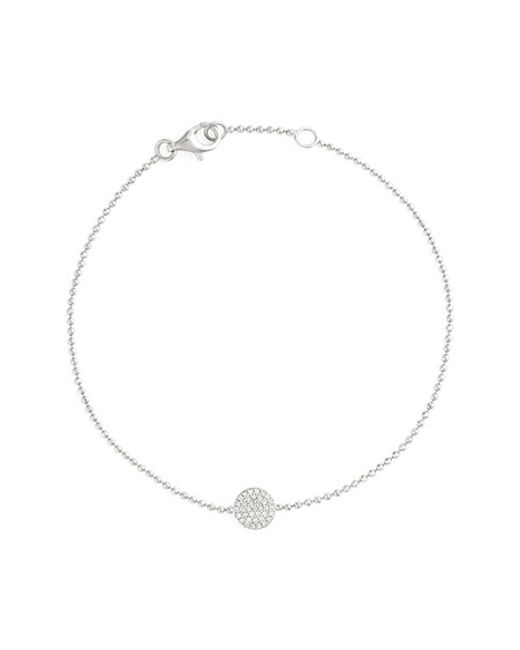 Bony Levy | Metallic 'aurora' Diamond Pave Circle Line Bracelet (nordstrom Exclusive) | Lyst