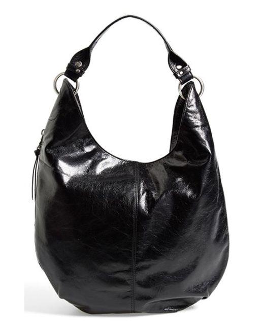 Hobo   Black 'gardner' Leather Shoulder Bag   Lyst