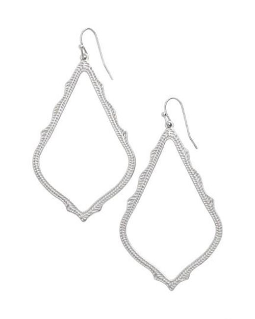 Kendra Scott | Metallic 'sophee' Textured Drop Earrings | Lyst