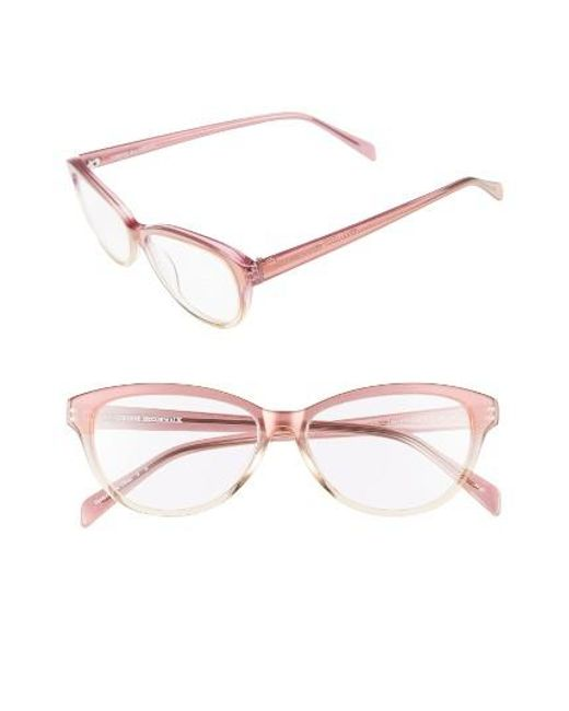 Corinne Mccormack | Black 'marge' 52mm Reading Glasses | Lyst
