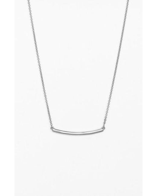 Bony Levy | White Bar Pendant Necklace (nordstrom Exclusive) | Lyst