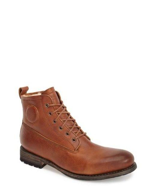 Blackstone | Brown 'gull' Plain Toe Boot for Men | Lyst
