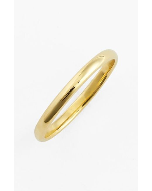 Bony Levy | Metallic 14k Gold Midi Ring (nordstrom Exclusive) | Lyst