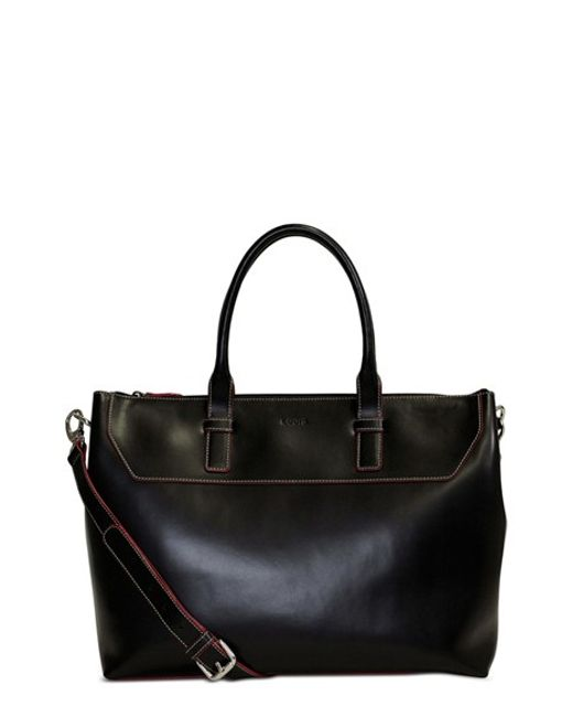 Lodis | Black Audrey Wilhelmina Leather Work Satchel | Lyst