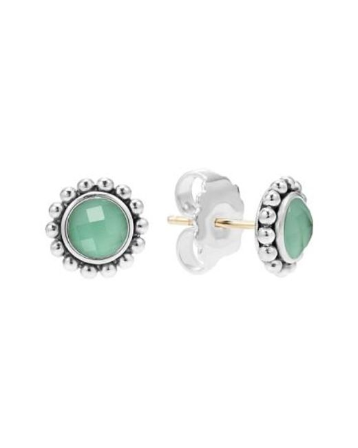 Lagos | Green Maya Doublet Stud Earrings | Lyst