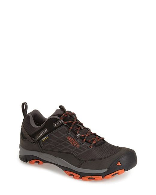 Keen | Black 'saltzman' Waterproof Walking Shoe for Men | Lyst