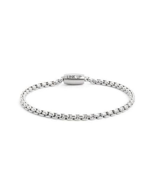 Link Up | Metallic Chain Link Bracelet for Men | Lyst