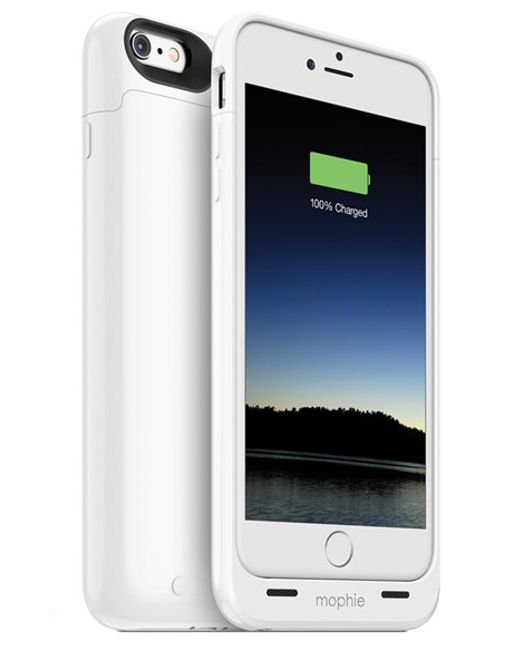 Mophie   White Juice Pack Iphone 6 Plus/6s Plus Charging Case   Lyst