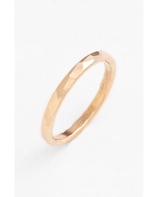 Nashelle | Metallic Ija Hammered Ring | Lyst