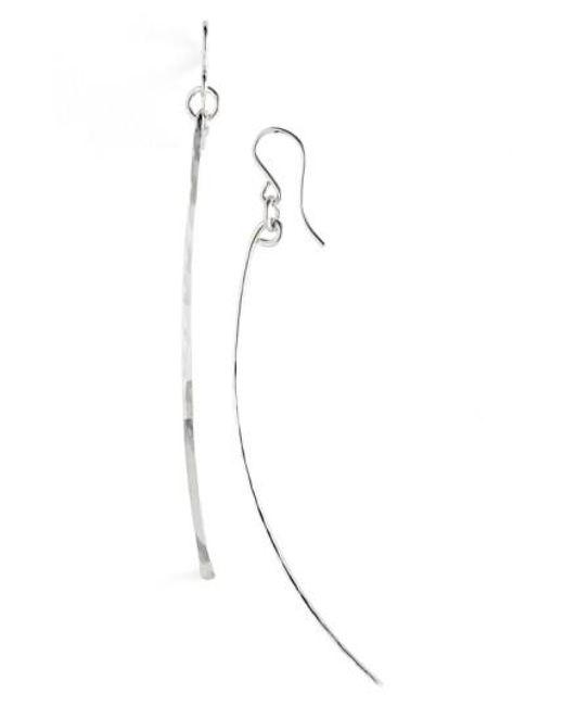 Nashelle | Metallic Ija Twig Drop Earrings | Lyst