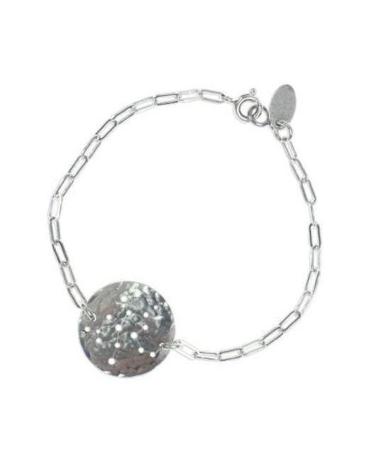Nashelle   Metallic Ija 'zodiac' Sterling Silver Chain Bracelet   Lyst