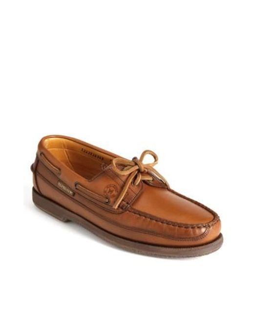 Mephisto   Brown 'hurrikan' Boat Shoe for Men   Lyst