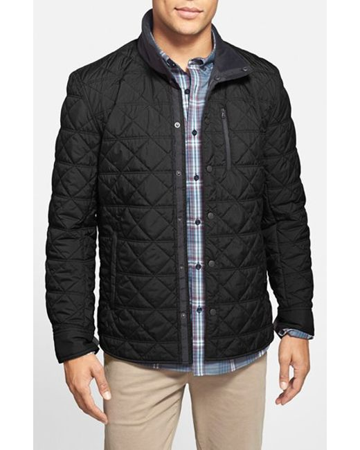 Victorinox | Black 'Bernhold' Quilted Thermore Insulated Jacket for Men | Lyst