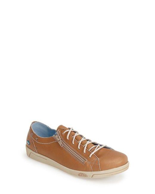 Cloud | Brown 'aika' Leather Sneaker | Lyst
