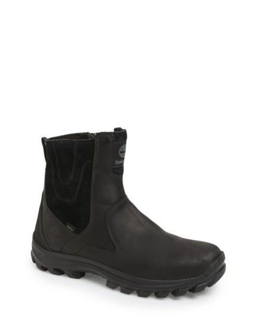 Timberland | Black 'chillberg' Waterproof Boot for Men | Lyst