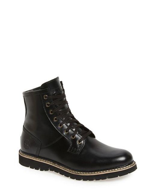 Timberland | Black 'britton Hill' Waterproof Boot for Men | Lyst