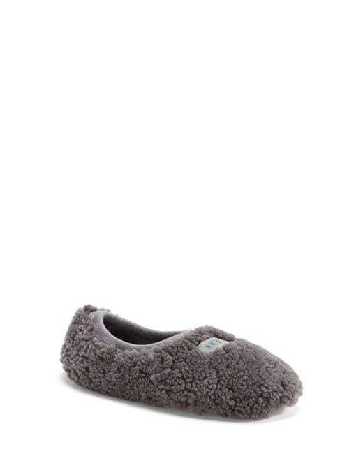 UGG | Gray 'Birche' Slipper | Lyst