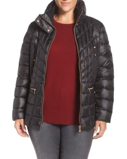 Bernardo | Packable Jacket With Down & Primaloft Fill, Black | Lyst