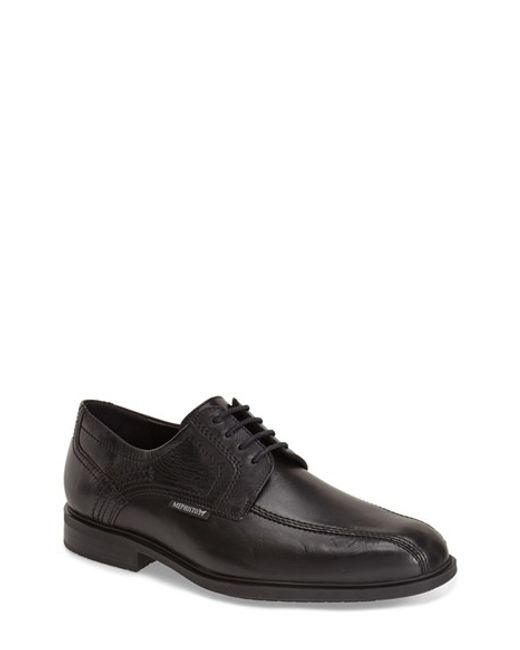 Mephisto | Black 'fabio' Bicycle Toe Derby for Men | Lyst