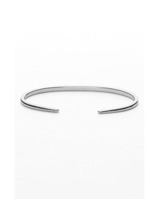 Nashelle | Metallic Ija 'simple' Skinny Cuff | Lyst