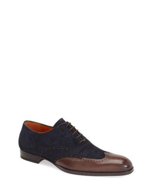 Mezlan | Brown 'ronda' Spectator Shoe for Men | Lyst