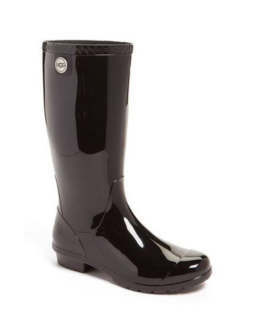 Ugg | Black Ugg 'shaye' Rain Boot | Lyst