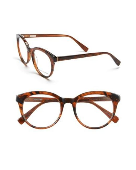 Derek Lam | Brown 51mm Optical Glasses | Lyst