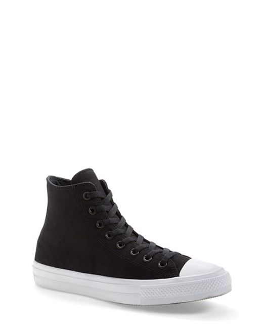 Converse | Black Chuck Taylor All Star Signature High Top Sneaker for Men | Lyst