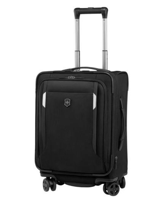 Victorinox   Black Victorinox Swiss Army 'wt 5.0' Dual Caster Wheeled Carry-on for Men   Lyst
