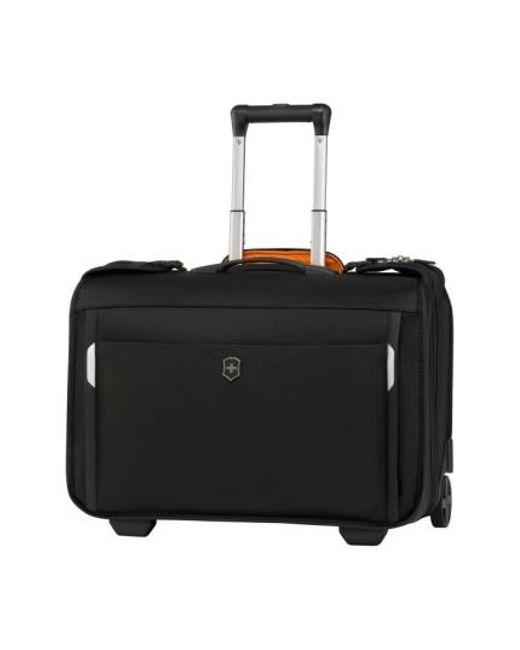 Victorinox | Black Victorinox Swiss Army 'wt 5.0 - East/west' Wheeled Garment Bag for Men | Lyst