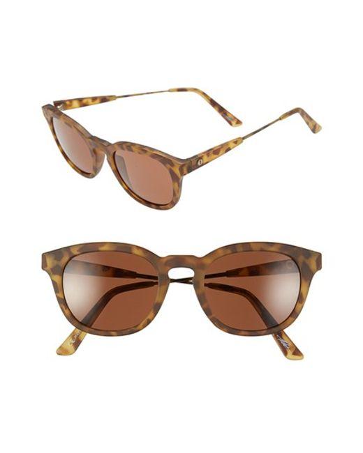 Electric | Brown 'la Txoko' 49mm Sunglasses | Lyst