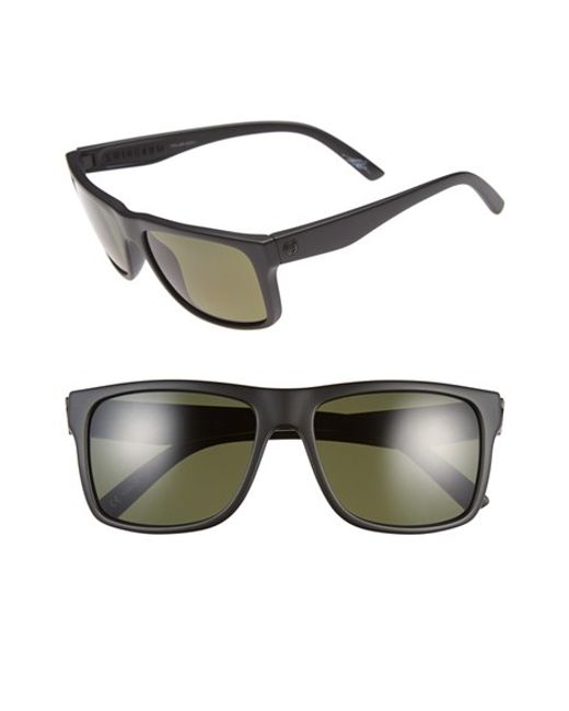 Electric   Black 'swimgarm' 57mm Polarized Sunglasses   Lyst