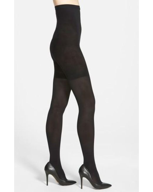 Spanx | Black Spanx Luxe Tights | Lyst