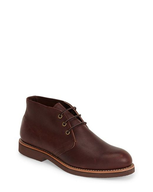 Red Wing | Brown 'foreman' Chukka Boot for Men | Lyst