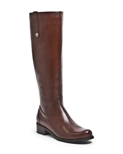 Blondo | Brown 'victorina' Waterproof Leather Riding Boot | Lyst