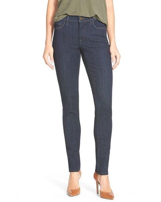 NYDJ | Blue 'ami' Stretch Skinny Jeans | Lyst