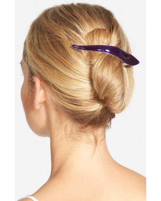 Ficcare | Purple 'maximus' Hair Clip | Lyst