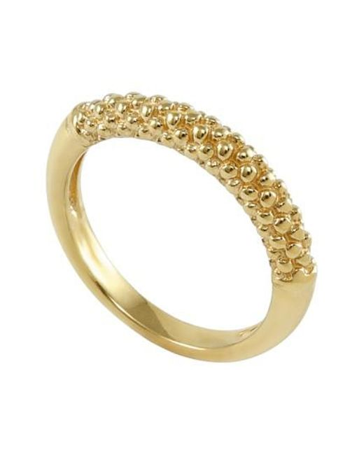 Lagos   Metallic Caviar Band Ring   Lyst