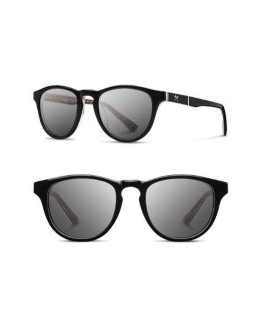 Shwood | Black 'francis - Pendleton' 48mm Polarized Sunglasses for Men | Lyst