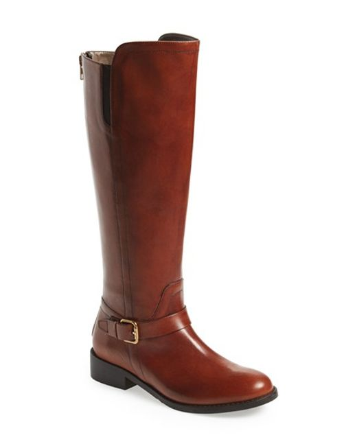 Bella Vita | Brown Tall Riding Boot | Lyst