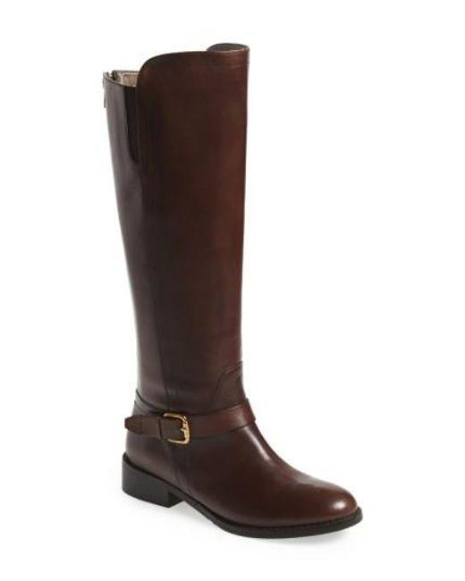 Bella Vita | Brown Esaitaly Tall Riding Boot | Lyst