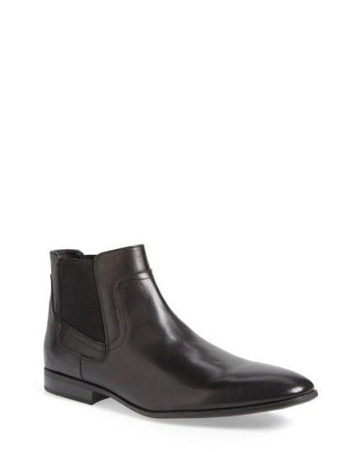 Calvin Klein | Black 'clarke' Chelsea Boot for Men | Lyst