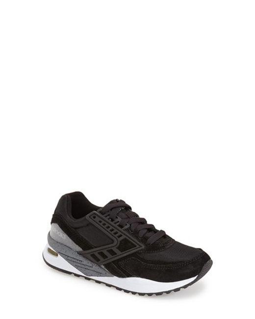 Brooks | Black 'evenfall Regent' Sneaker | Lyst