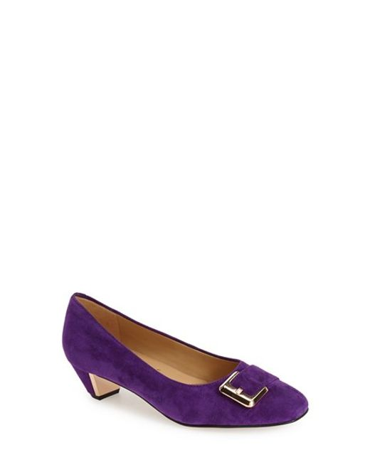 Trotters | Purple 'fancy' Pump | Lyst