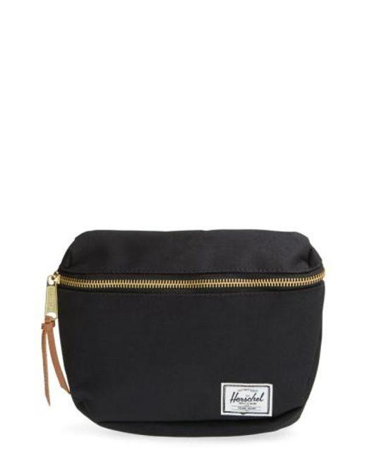 Herschel Supply Co. | Black Fifteen Belt Bag | Lyst