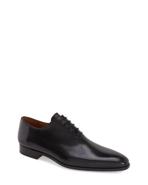 Magnanni Shoes | Black 'cruz' Plain Toe Oxford for Men | Lyst