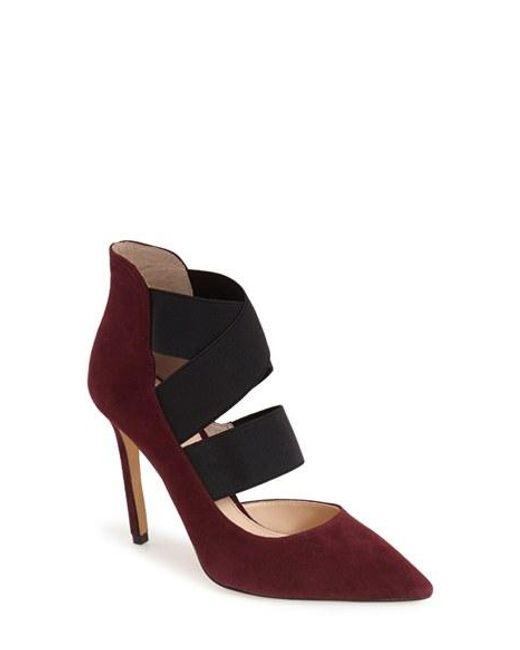 Vince Camuto | Purple 'nigel' Pointy Toe Pump | Lyst