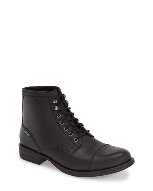 Eastland | Black 'high Fidelity' Cap Toe Boot for Men | Lyst
